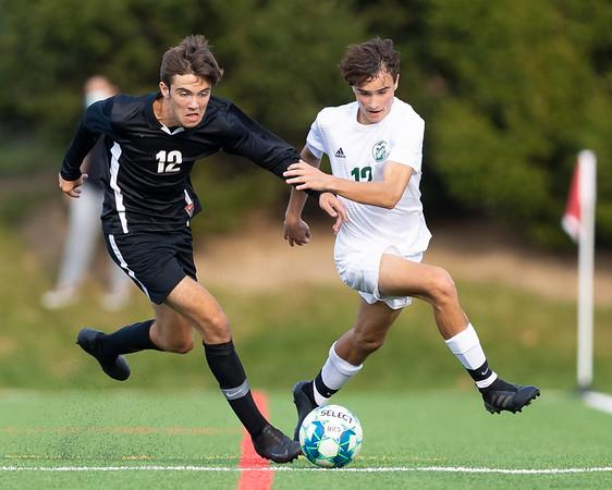 2020-09-25 | Boys Soccer | Central Dauphin @ Hempfield