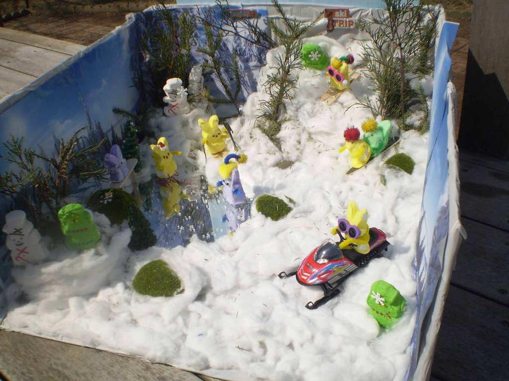""". \""""2014 Minnesota Peeps Winter Wonderland, by JoAnne Eagen"""