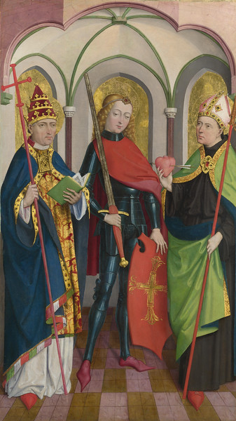 Saints Gregory, Maurice and Augustine