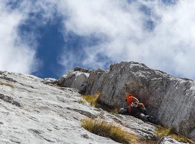 10 07 Rock climbing in Novi Vrh