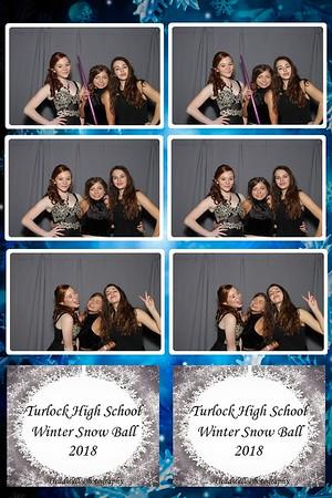 Turlock High School Winter Formal 2018