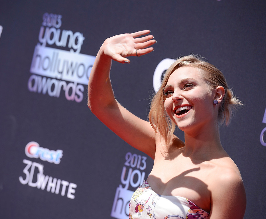 . Actress AnnaSophia Robb arrives at the 2013 Young Hollywood Awards at The Broad Stage on Thursday, August 1, 2013, in Santa Monica, Calif. (Photo by Dan Steinberg/Invision/AP)