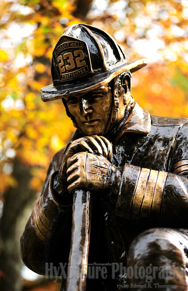 Firefighter's Memorial in Jefferson Hills Cemetary