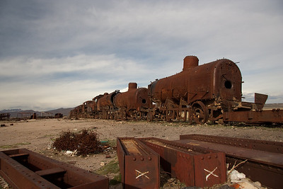 Uyuni Train Graveyard