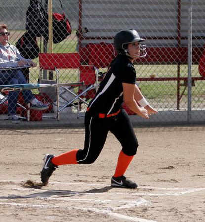 Woodlake at Lindsay Softball 4-16-13