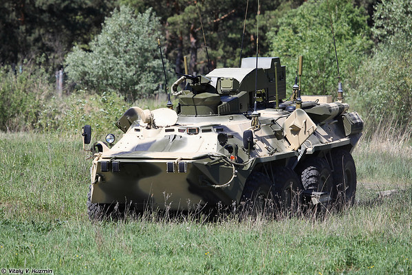 BPDM Typhoon-M counter-sabotage combat vehicle