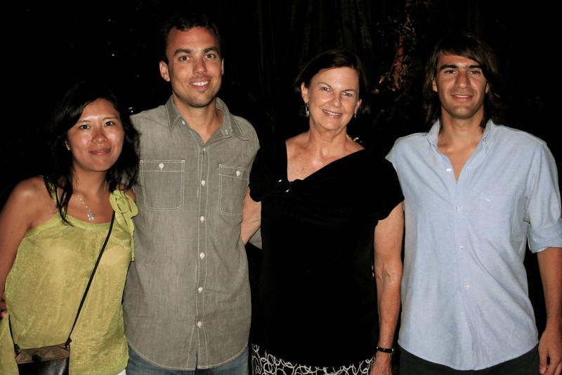 monica, mateo, karen (wendy's mom) and pato