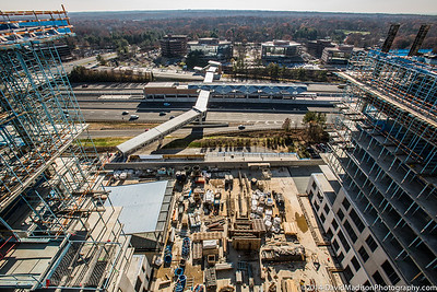 Reston Station RB4 Topping off November 2014