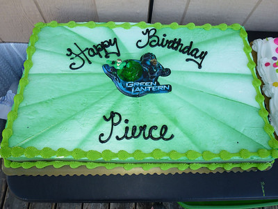 Pierce's 6th Birthday 7/12/11