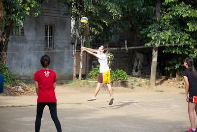 Summer Volleyball Practice 2013