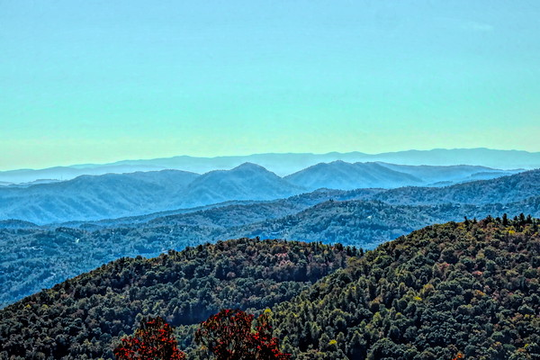 Blue Ridge Mountains Fall 2020