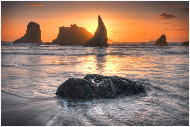 Sunset, OR, sunset, Oregon, sea stacks, fine art, landscape.jpg