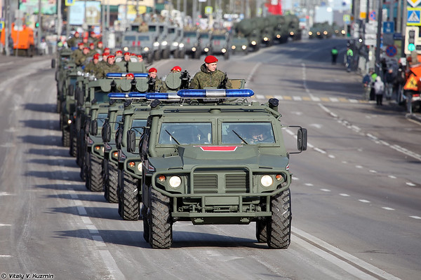 Dress rehearsal of 2021 Moscow Victory Day Parade