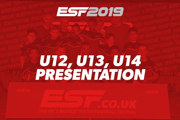 U12, U13, U14 PRESENTATION