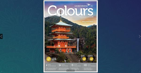 Garuda Indonesia Airlines - Colours Magazine