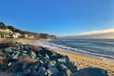 Sunset Martin's Beach 020521
