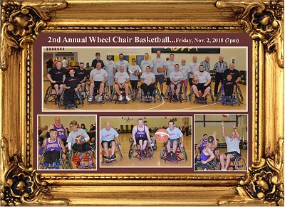 11-2-18 Wheel Chair Basketball Game at Telesis School