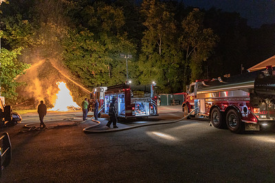 9-15-2020 Live Burn Drill