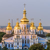 Golden Domes of St Michael's Monastery, Kiev, Ukraine