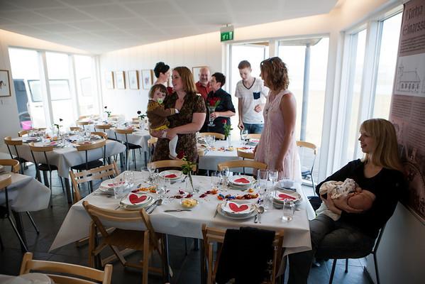 Særún og Bjarni í Haga - brúðkaup 2012