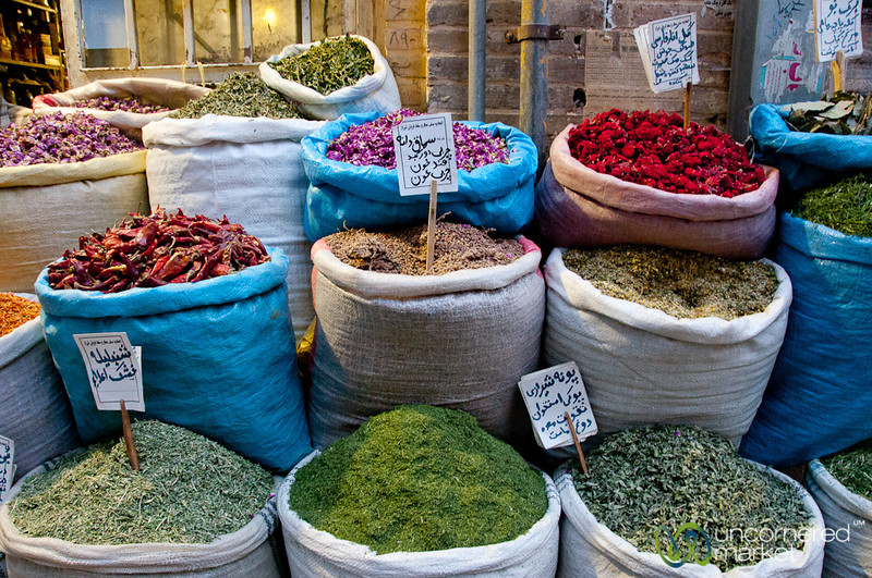 Iranian Herbs and Teas - Shiraz, Iran