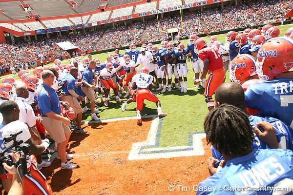 2008 Orange and Blue game