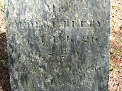 George Berry Grave