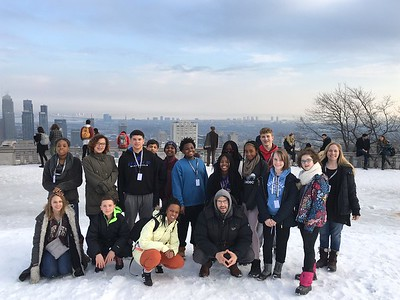 Middle School Quebec Trip 2017