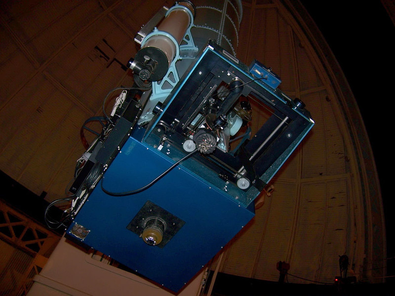 Allegheny Multifilter Astrometric Camera (AMAC). This device is used to determine stellar parallaxes with astrometric programs.