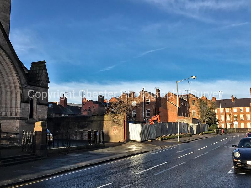 Car Park adjacent St Werburgh's: Grosvenor Park Road