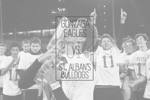 Gonzaga Eagles vs. St Alban's Bulldogs - DCSAA Boys Soccer Championship