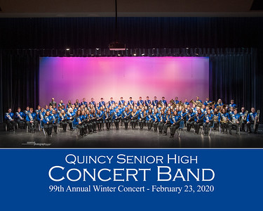QHS Concert Band - 99th Winter Concert - 2020