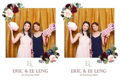 Eric & Ee Leng 22 Feb 2020 Photobooth Album