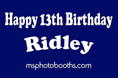 2016-08-19 Ridley 13th Birthday