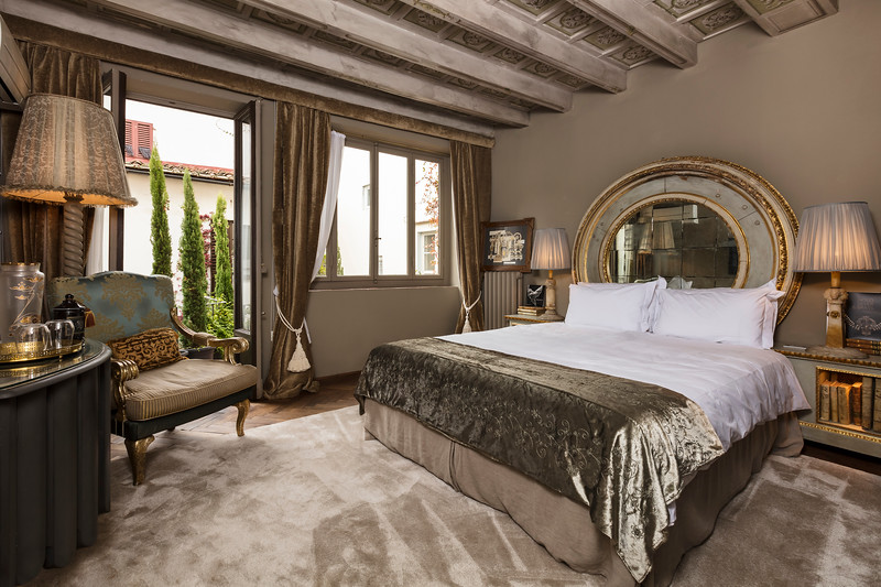 Bedroom, Foresteria Florentine; Florence, Italy