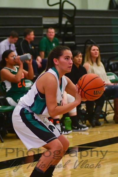 2017-18 Dixon Varsity Girls vs. Mesa Verde