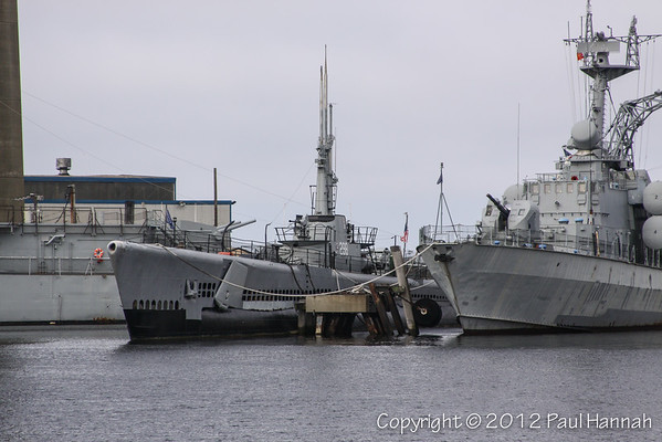 USS Lionfish (SS-298) Balao Class - Fall River, MA