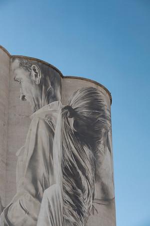 Silo Mural