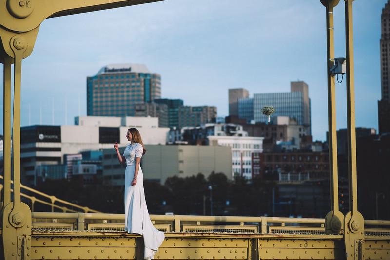 Pittsburgh Elopement Photographer - Monaco Bridge Downtown - Hadley-303.jpg