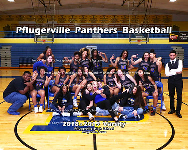 2019 Panther basketball