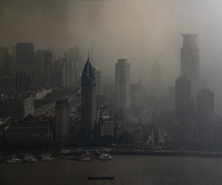 Shanghai in a Storm