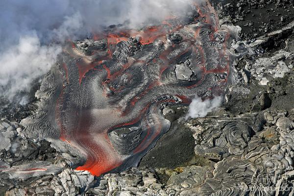 Big Island Lava~Helicopter Flight