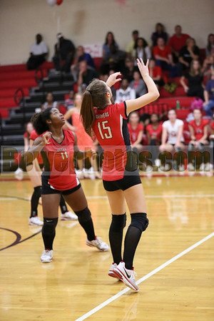 2012 Oak Grove at Petal (varsity volleyball)
