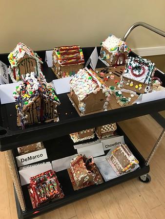 12.18.19 Grade 9 Gingerbread House Making