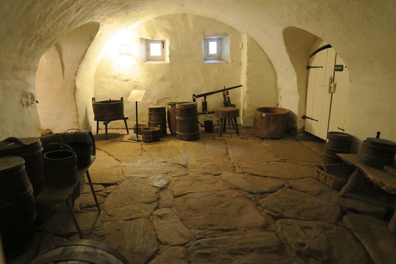 "Salem Tavern (ca. 1784) -- ""Kitchen Storage"""