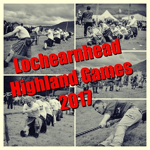 The 2017 Lochearnhead Highland Games