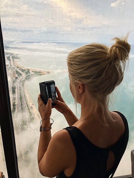 Fotograf i bild