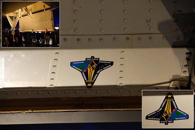 NYC-USS Intrepid w/Space Shuttle