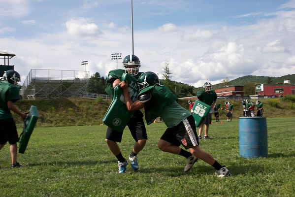 WUHS Football Practice Starts