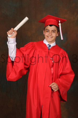 8th Grade Graduation Portrait - June 3, 2014